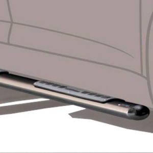 Citroën C-Crosser Oval Design Side Protections Inox