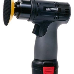 Mini lucidatrice con disco da 75mm cordless con batteria a Li-Ion M25701138-K2 PowerHand.