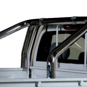 Great Wall Steed Wingle Single Cab (2010-2011) – Roll Bar on Tonneau Inox 2 pipes