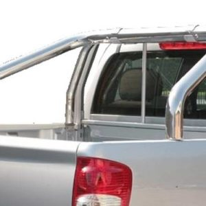 Great Wall Steed Wingle Double Cab 2011 – Roll Bar on Tonneau Inox 2 pipes