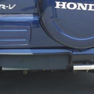 Honda CR-V (2002-2004) – Angular Rear Protections Inox
