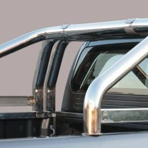 Great Wall Steed Wingle Double Cab – Roll Bar Mark on Tonneau Inox 3 pipes