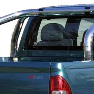 D-Max Double Cab (2007-2012)  – Roll Bar Inox (2 tubes)