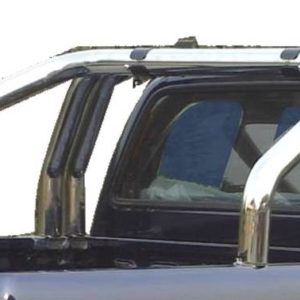 D-Max Double Cab (2007-2012)  – Roll Bar Inox (3 tubes)