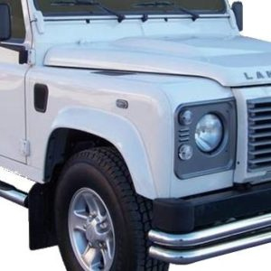 Defender (version 110″) – Double Front Protection Inox