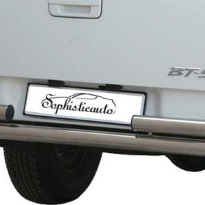 BT50 Double Cab – Double Rear Protection Inox