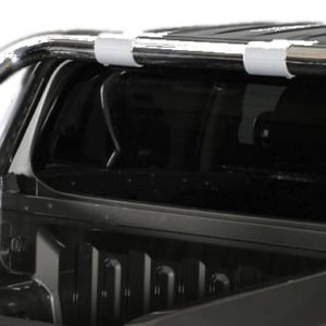 Roll Bar on Tonneau Inox (2 pipes version)