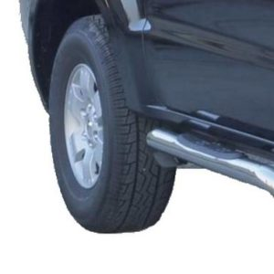 Mitsubishi Pajero – Radial Grand Pedana -Radial Side Bars with steps- Inox