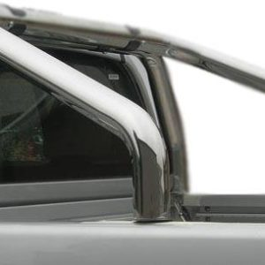 Nissan Navara – Roll Bar on Tonneau Inox