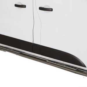 Nissan NV300 – Design Side Protection (Oval side bars with design steps) Inox