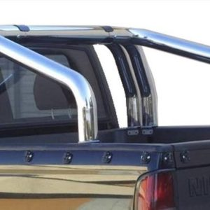 Nissan Pick Up – Roll Bar on Tonneau Inox