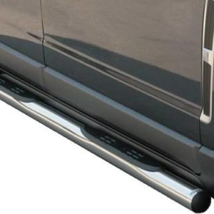 Opel Antara – Grand Pedana (Side Bars with steps) Inox