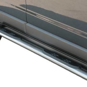 Opel Antara – Oval Grand Pedana (Oval Side Bars with steps) Inox