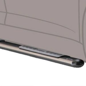 Opel Antara – Design Side Protections Inox