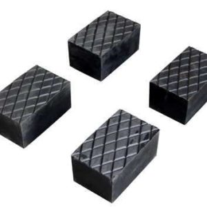 4 rubber pads 120 mm