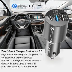 7-in-1 Quickcharger 3.0 Qualcomm