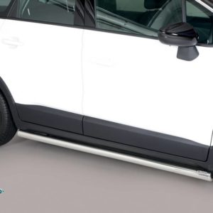 Crossland X – Side Protection Inox
